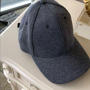 Lululemon gray structured cap